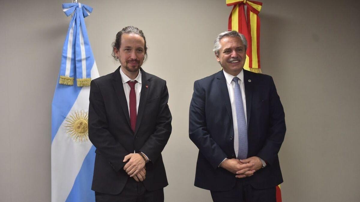 Iglesias Podemos Argentina