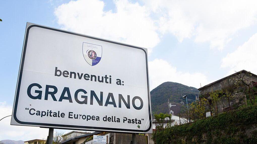 Gragnano es la capital de la pasta