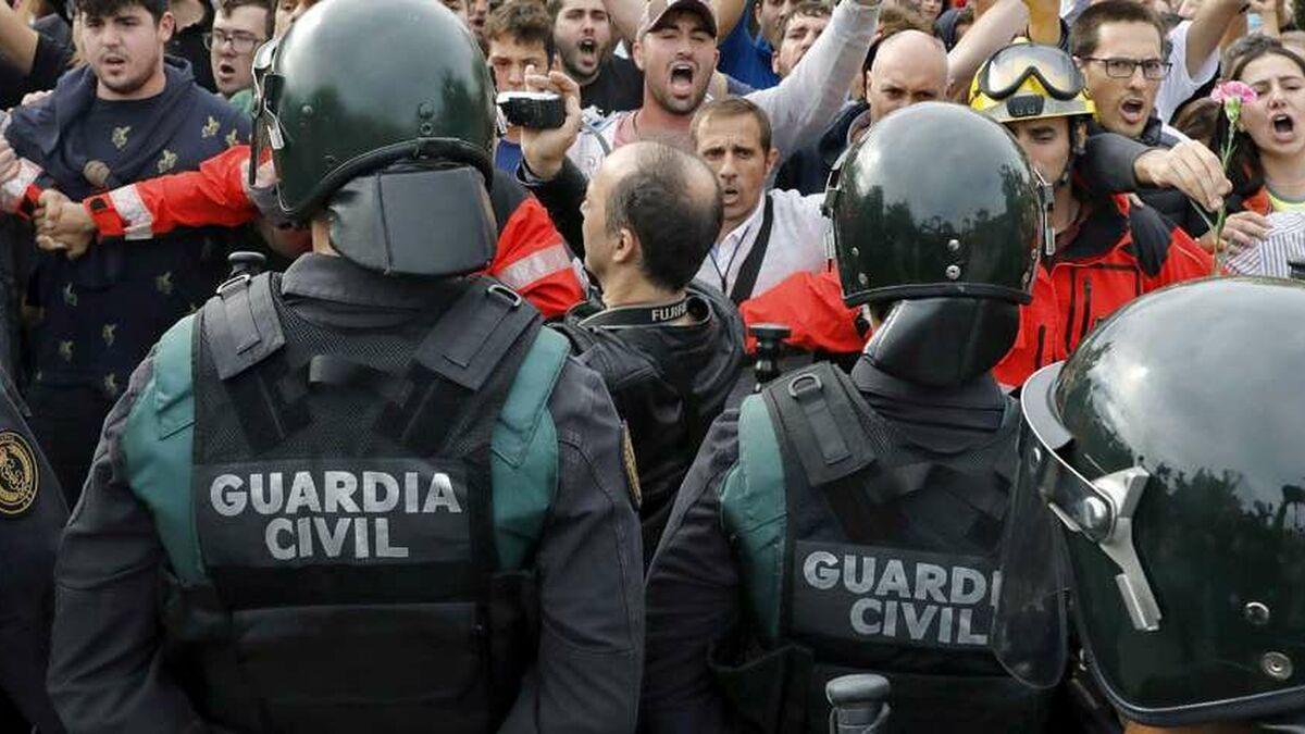 ERC prepara una ley de amnistía que excluye a los policías imputados en las cargas del 1-O