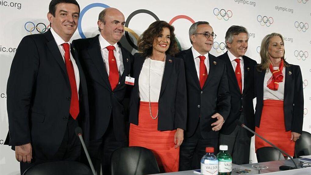 Recta final de Madrid 2020 en un 'hotelito' suizo de lujo para Botella, Rajoy, el príncipe, Guindos…
