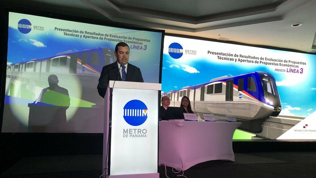 Hyundai se impone a Acciona en la puja por la línea 3 del metro de Panamá