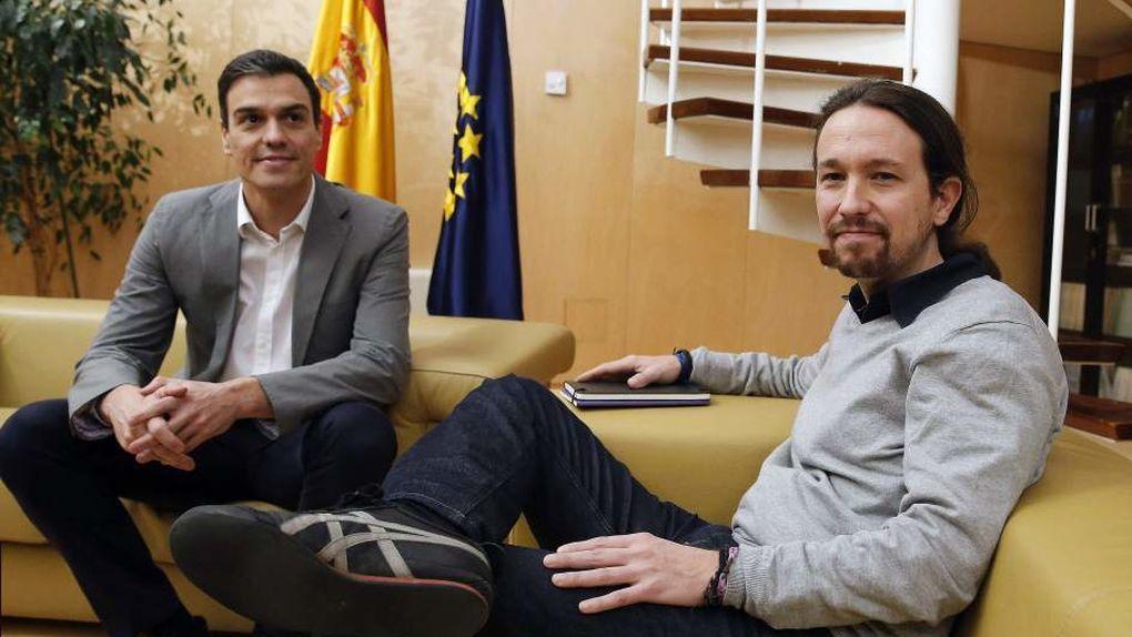 Sánchez e Iglesias prefieren ver el Mundial de baloncesto a negociar (y van 193 días de Gobierno en funciones)