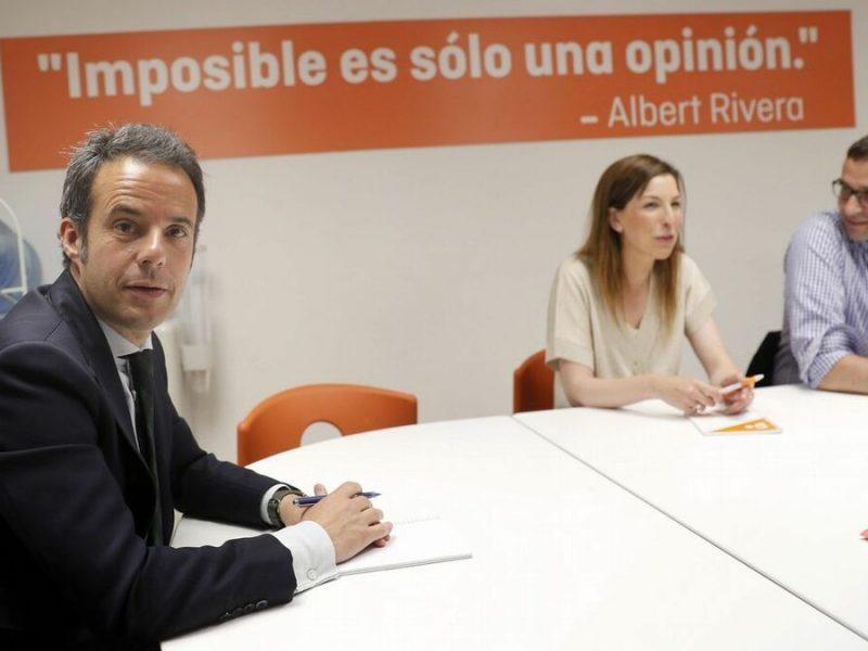Estupor en Cs Asturias con la marcha del tesorero tres meses después de su elección