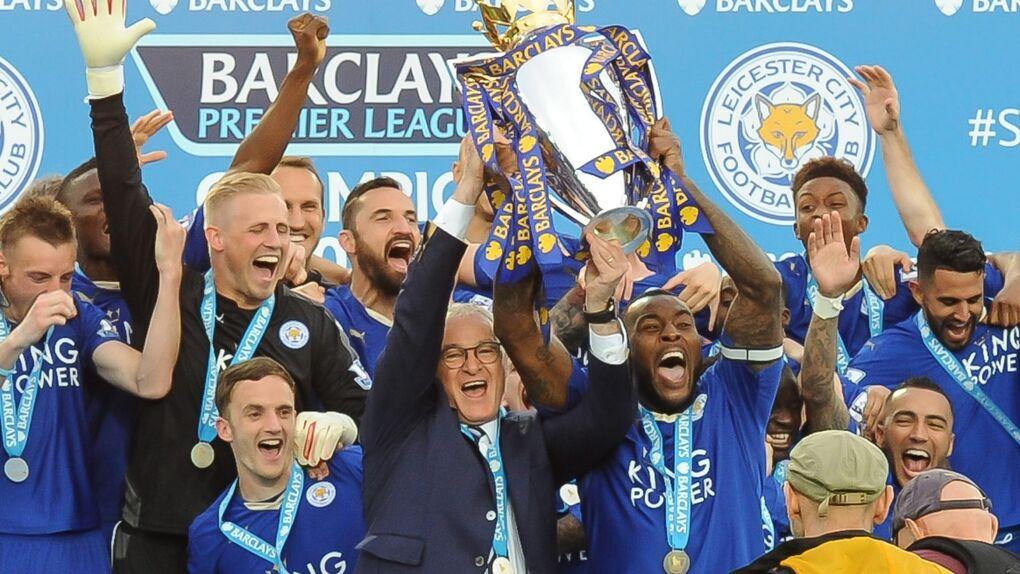 Fiesta por todo lo alto del Leicester como campeón de la Premier League