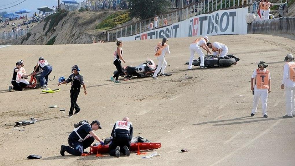Los pilotos españoles de Superbike Bernat Martínez y Dani Rivas fallecen en un accidente en Laguna Seca