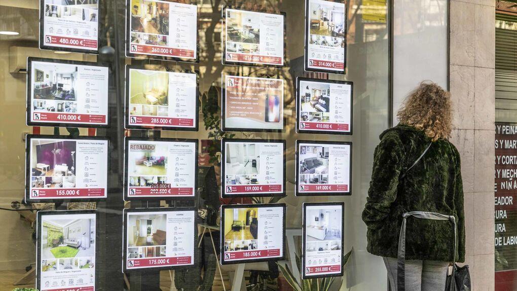 Los españoles dedican casi el doble de su renta que los europeos a los alquileres
