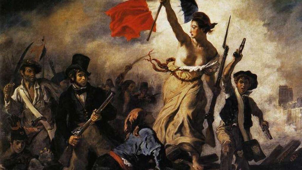 Una desequilibrada daña un famoso Delacroix en el Louvre de Lens