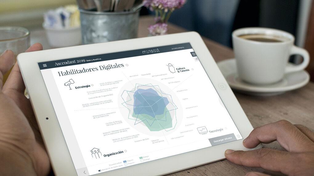 Informe Minsait: el barómetro de la digitalización de la empresa española