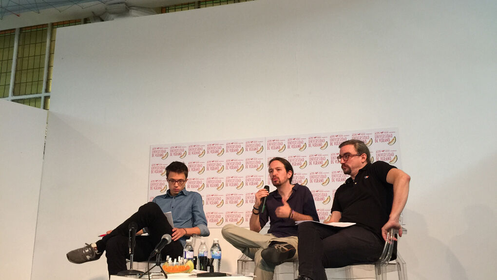 La universidad de verano de Podemos no convoca a sus catedráticos más díscolos