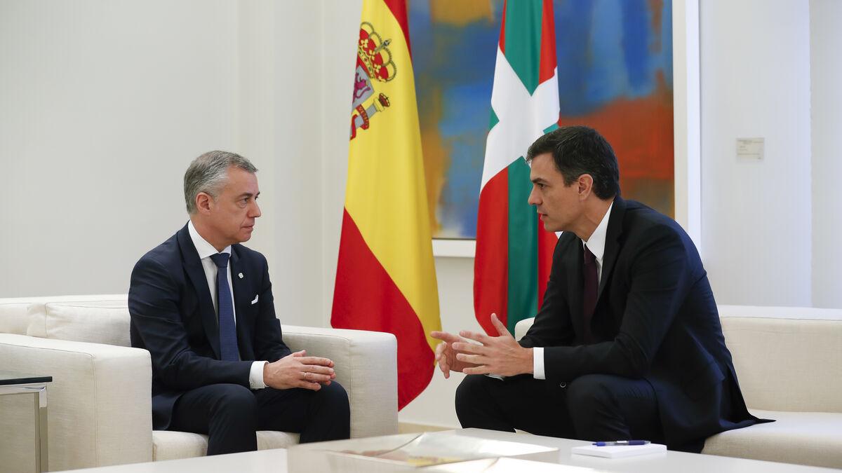 Urkullu ruega el estado de alarma a Sánchez ante su incapacidad frente a la cuarta ola