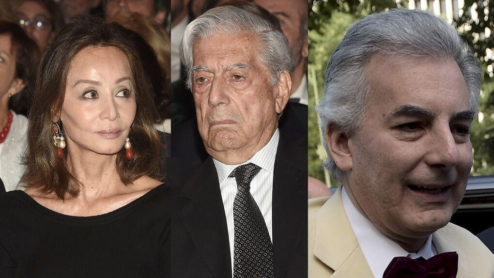 """Vargas Llosa y Preysler responden a los ataques de """"manipuladora"""" y falsa del hijo del Nobel"""