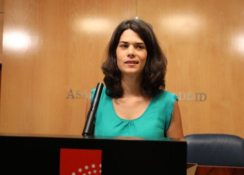 La candidatura de Isabel Serra (Podemos) en Madrid depende del recurso de su condena