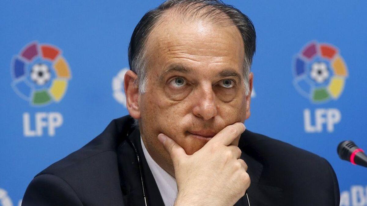 El Gobierno denuncia denuncia a Javier Tebas ante la Fiscalía por el 'caso Fuenlabrada'