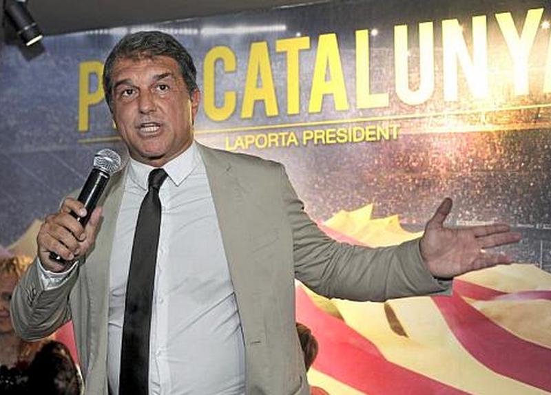Junts instrumentaliza a Laporta y al Barça seis días después de su victoria