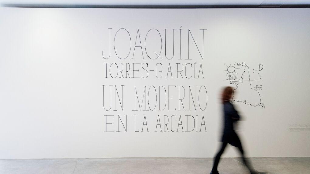 Del MoMA a la Gran Vía: Fundación Telefónica exhibe a Torres-García, un moderno en la Arcadia