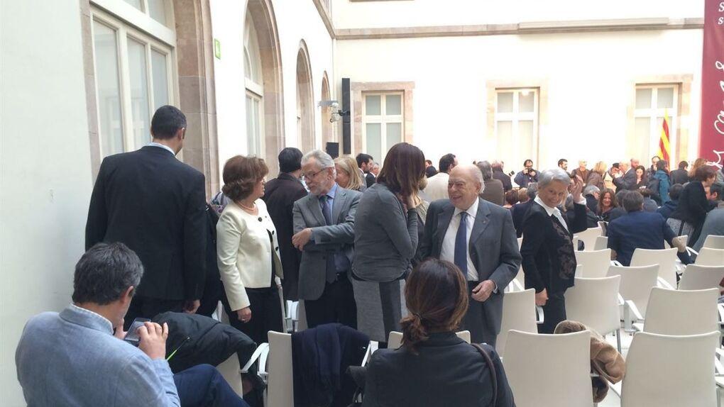Jordi Pujol asiste al primer acto oficial desde la apertura de la causa contra él