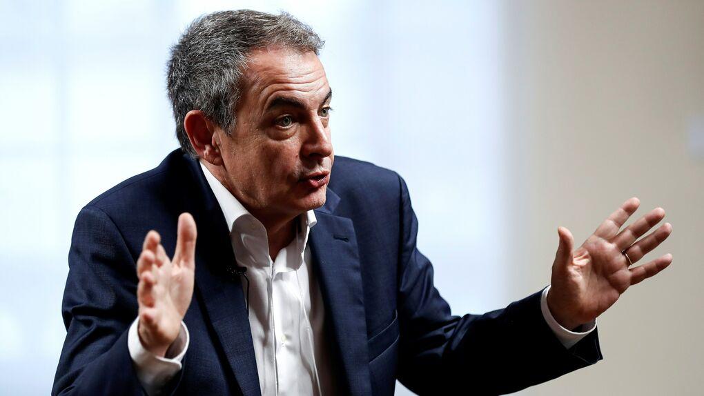 """Zapatero aboga por un """"reencuentro"""" que """"cure la herida"""" del 1-O en Cataluña"""