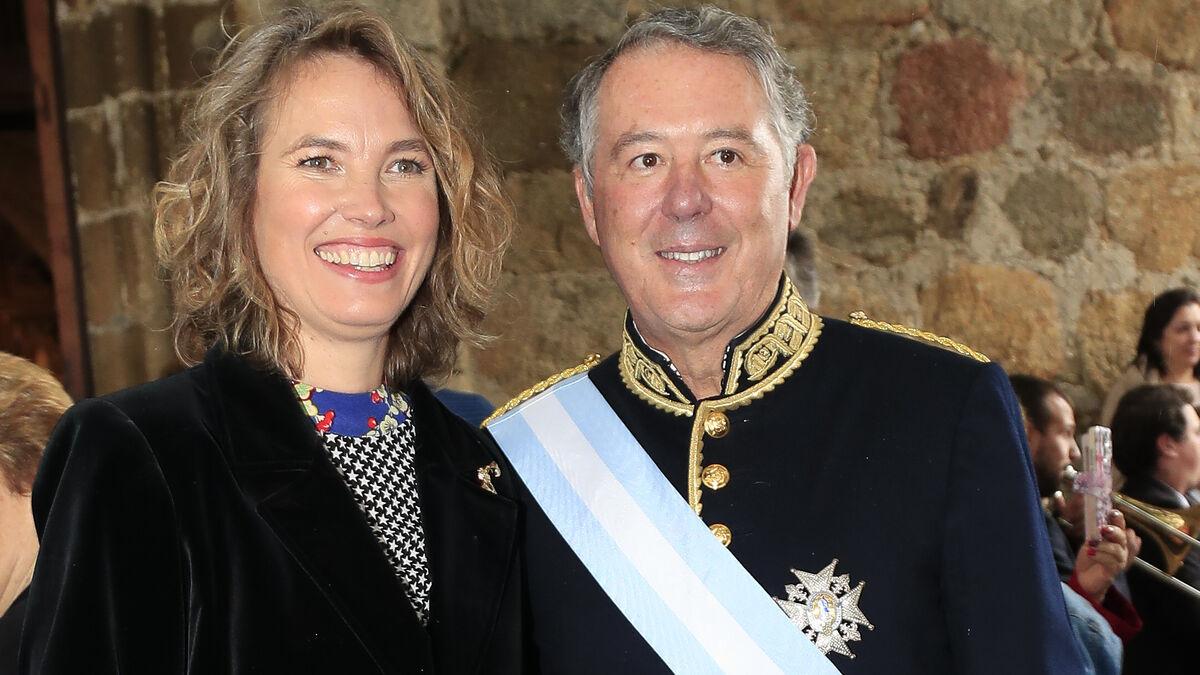 José María Michavila y su pareja Alejandra de Salinas se casan