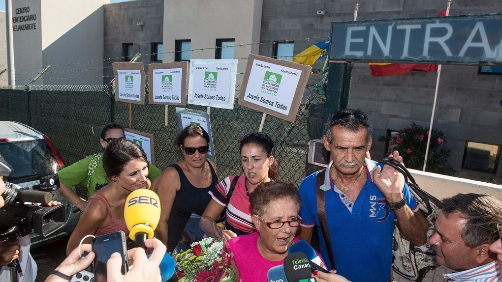 El Gobierno indulta a Josefa Hernández, la abuela de Fuerteventura, pero le exige que derribe su casa