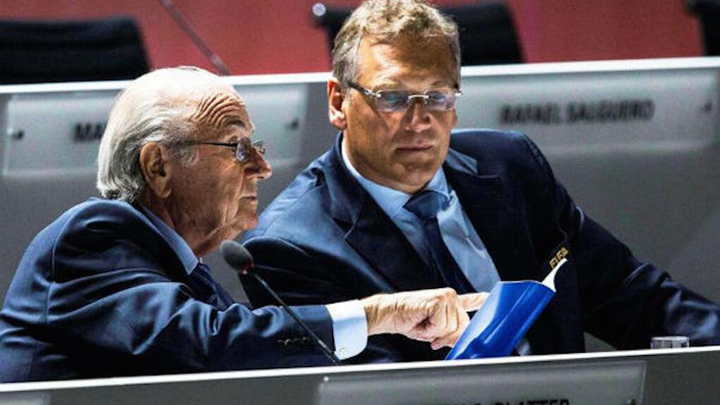Blatter cobró 38 millones de dólares en bonus y Jerome Valcke, secretario general, 39