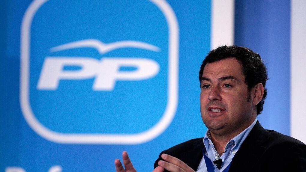 Juanma Moreno ante las primarias del PP de Sevilla