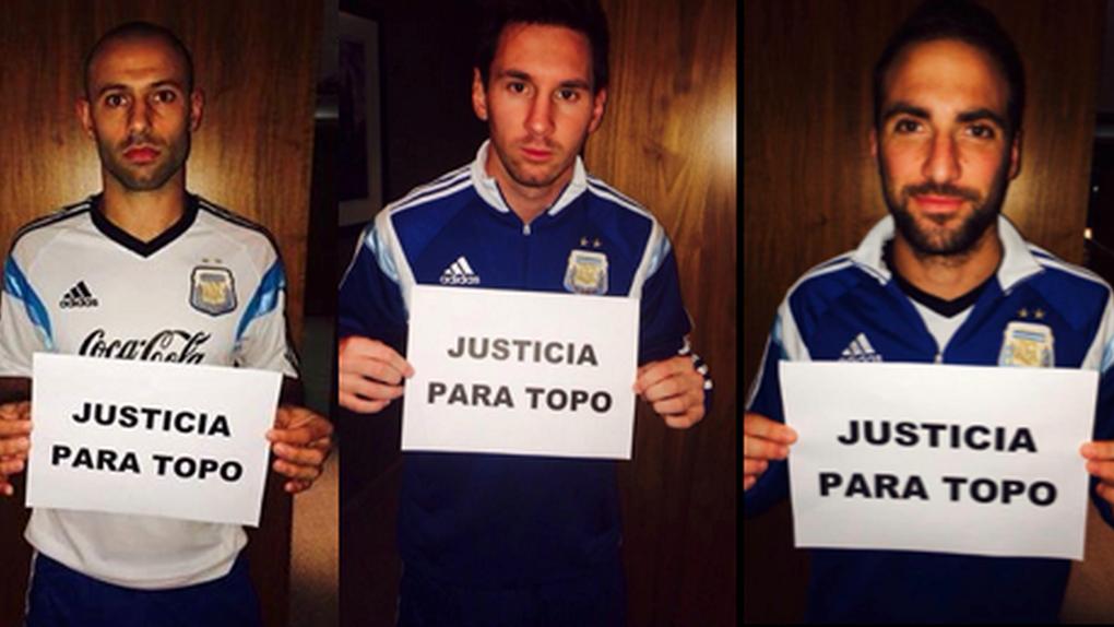 Barcelona y Atlético se unirán el domingo para pedir 'Justicia para Topo'