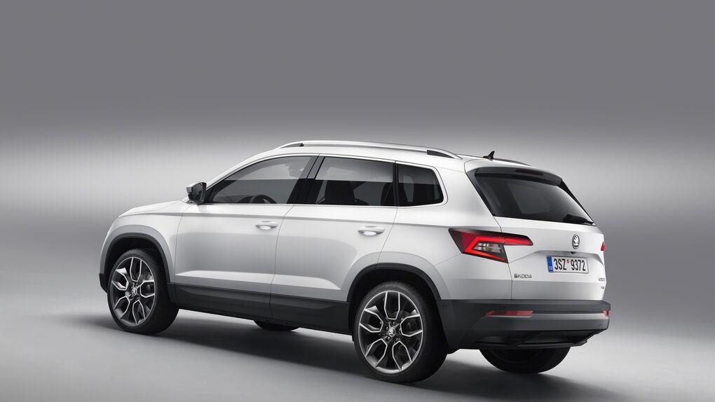 Skoda da a conocer el Karoq, su nuevo SUV que sustituye al Yeti y similar al Ateca de Seat
