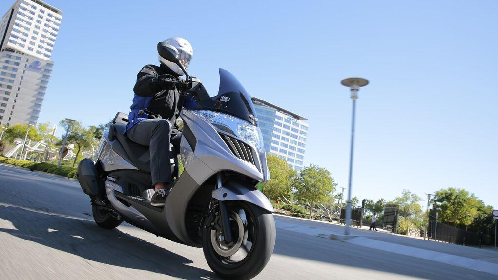 Kymco lanza el Yager GT, el más económico de sus scooter Gran Turismo