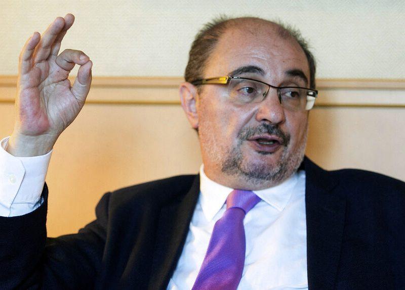 El presidente de Aragón, ingresado de nuevo en el Hospital Miguel Servet