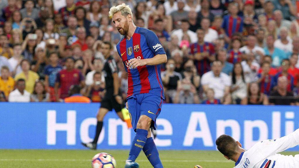 El Barça vence (3-2) pero no convence ante una débil Sampdoria en el Trofeo Joan Gamper