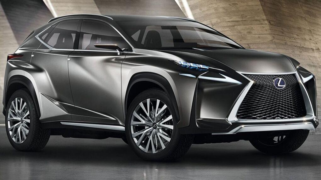 Lexus LF-NX, un crossover híbrido de diseño muy futurista