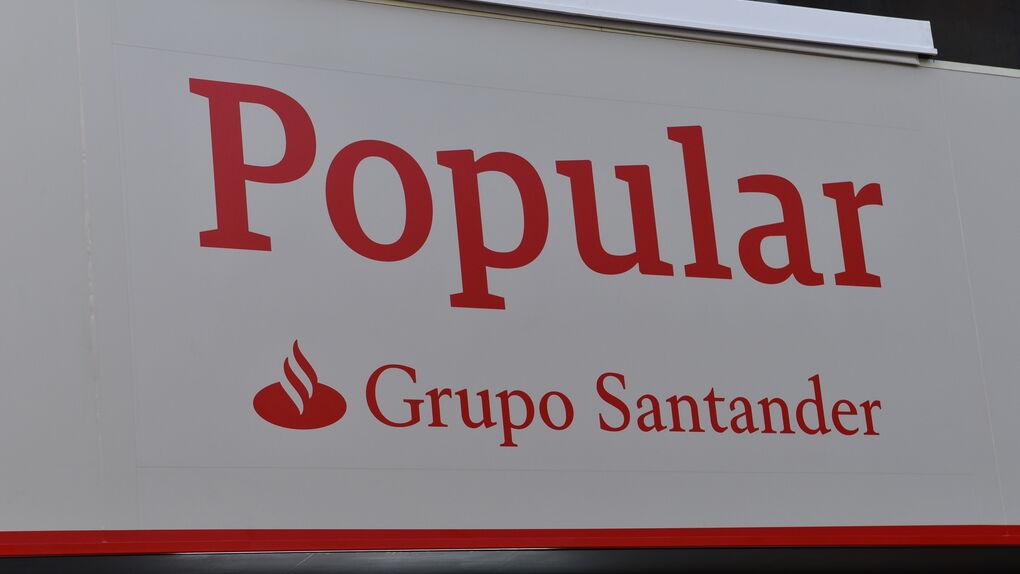 Santander eleva a 4.000 millones los créditos fiscales de Banco Popular