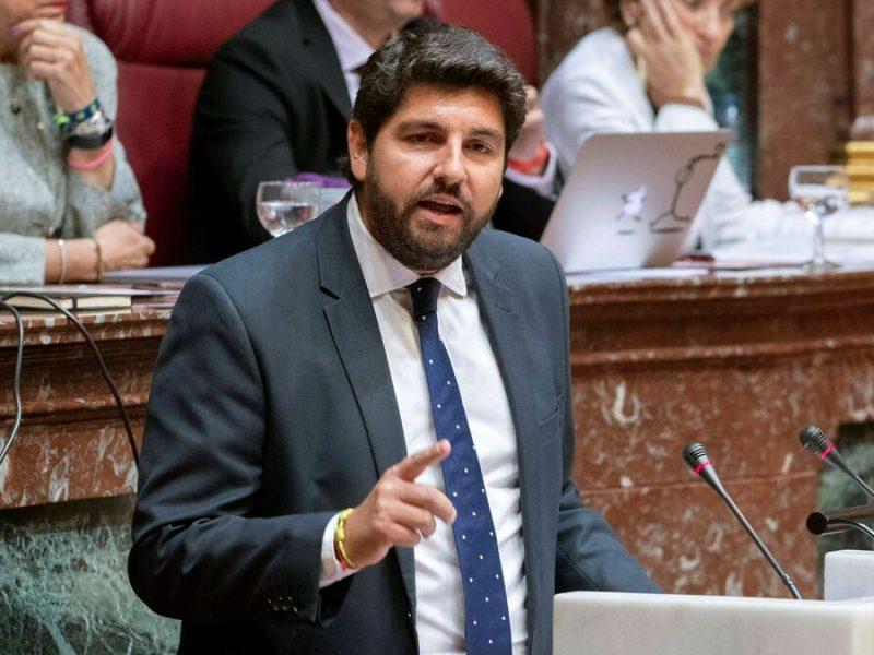 El Juzgado inadmite la denuncia del PSOE contra López Miras y los diputados expulsados de Cs en Murcia por cohecho