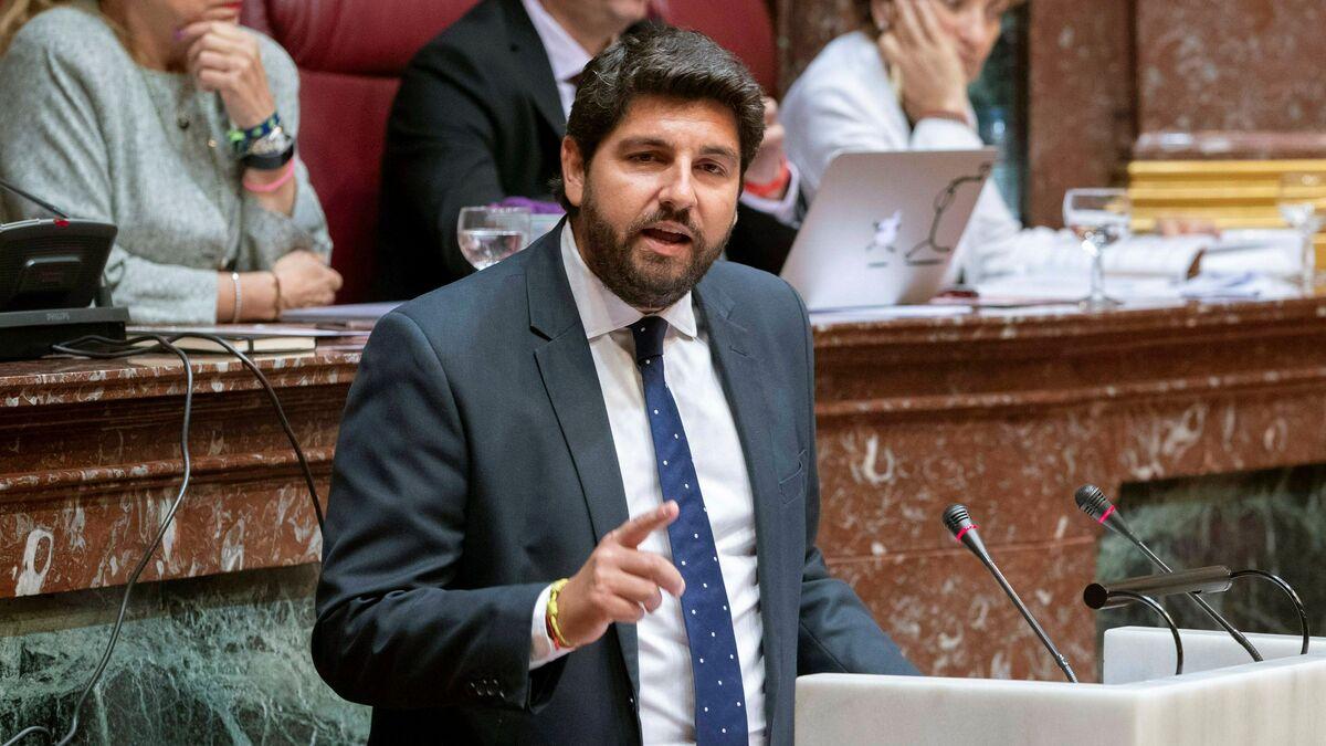 Inadmitida la denuncia del PSOE  contra López Miras y losex diputados de Cs por cohecho