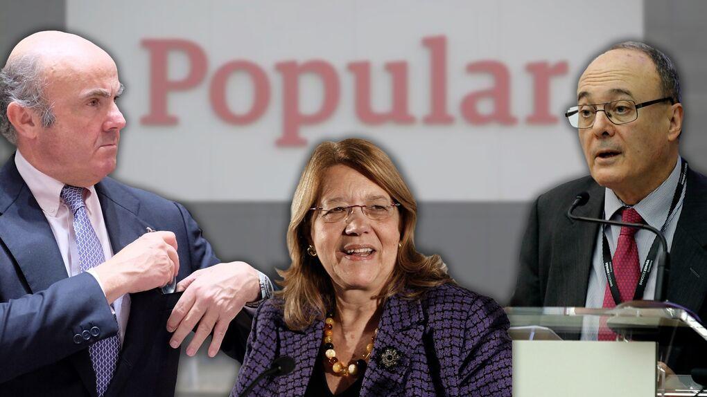 """La excúpula económica deberá aclarar por qué el Popular se convirtió en un banco """"zombie"""""""