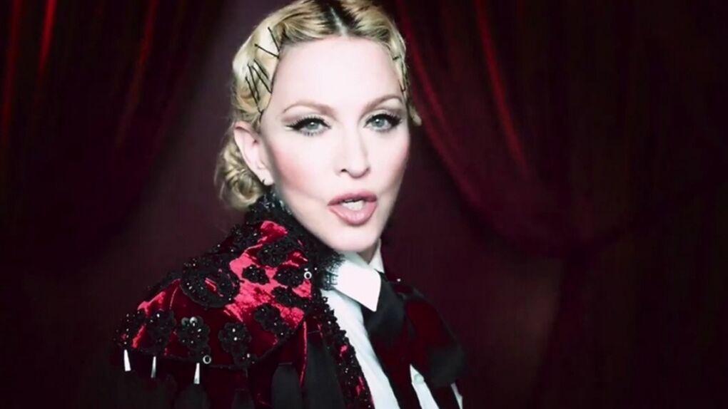 Madonna se viste de torera para el vídeo de 'Living for Love'