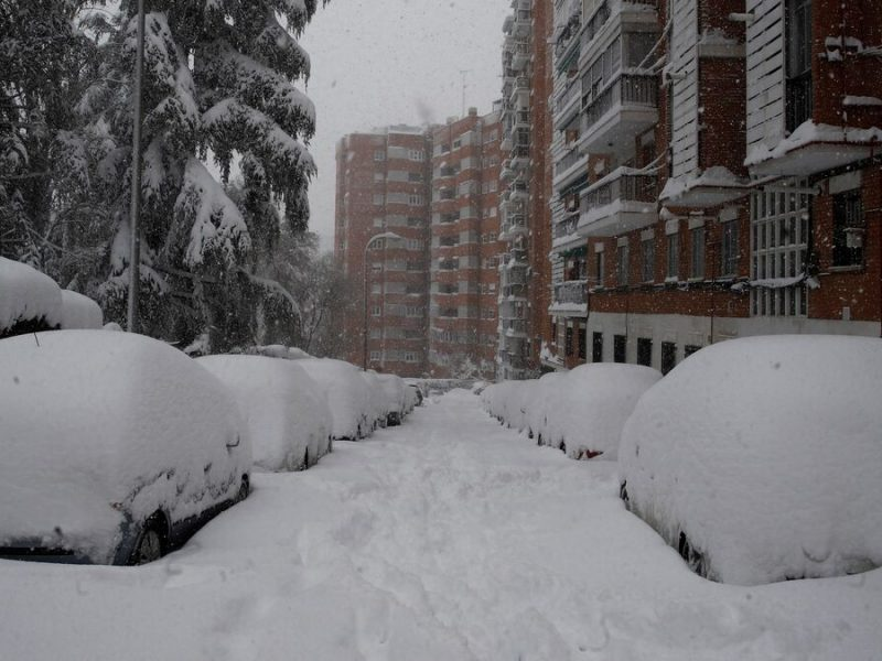 El Gobierno aprueba 509 millones de euros para resarcir daños por Filomena