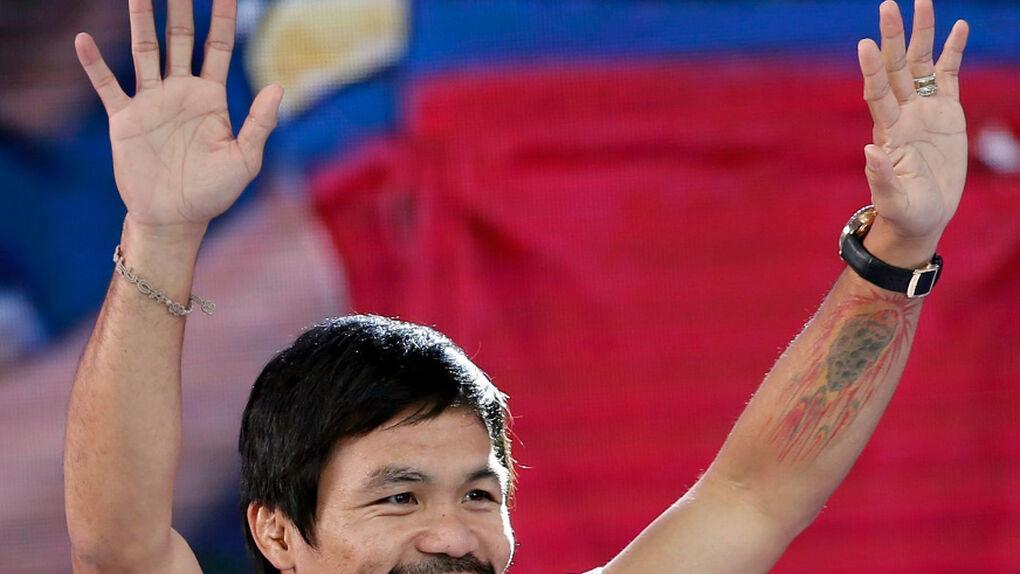 """Pacquiao pide perdón a los gais: """"Os quiero a todos con el amor del Señor"""""""