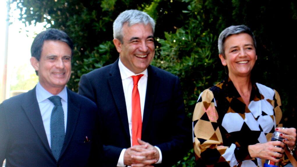 Los liberales europeos arropan a Valls para hacer frente al separatismo
