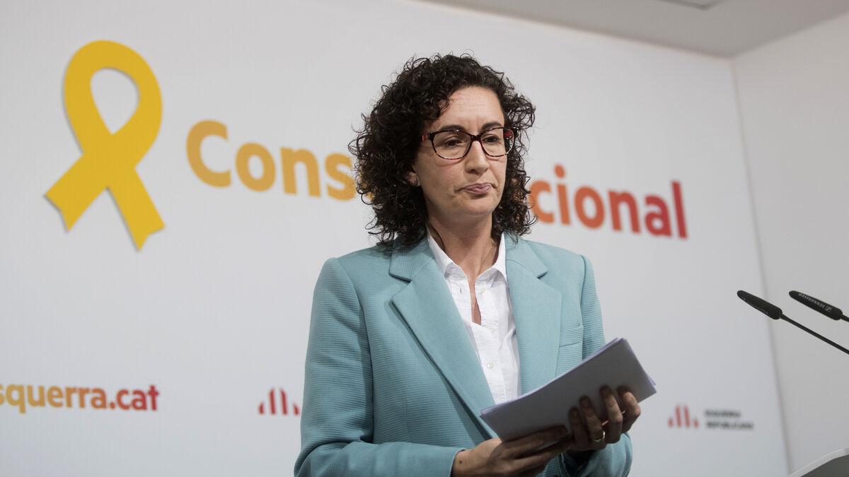 "Marta Rovira (ERC) pide desde Suiza al independentismo que esté ""a la altura"" si inhabilitan a Torra"