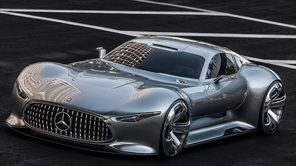 Mercedes-Benz AMG Vision Gran Turismo, del videojuego a la carretera