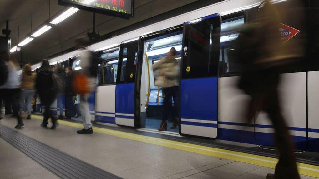 Detenido por empujar a un joven a las vías del metro de Madrid