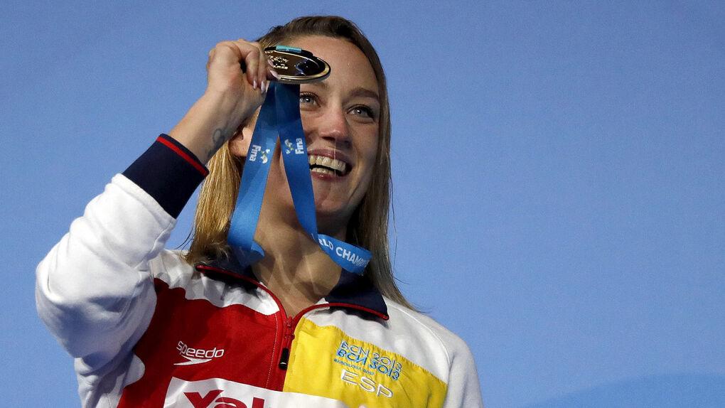 Mireia Belmonte se hace con la plata en los 400 estilos y suma tres medallas en el Mundial de Budapest