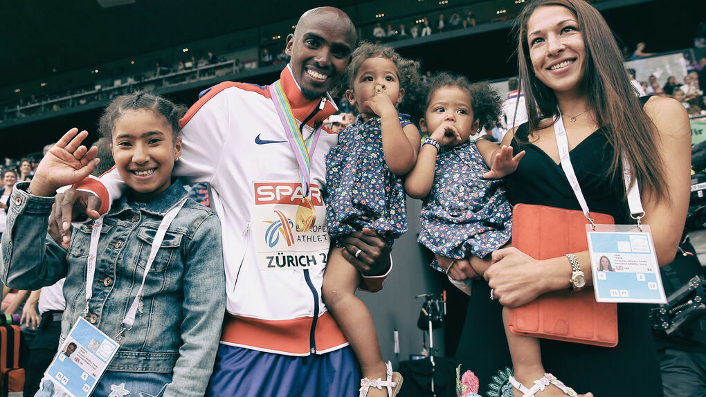 Mo Farah se suma a la lucha del deporte contra Trump
