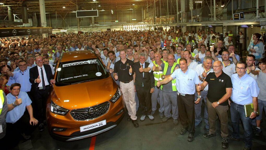 Opel Figueruelas comienza la producción de un nuevo modelo, el Mokka X