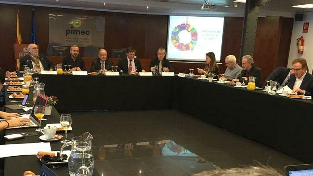 Pimec prevé un 2020 con crecimiento y espera que la Generalitat pueda aprobar sus presupuestos