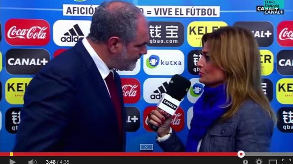 Mónica Marchante no echó a Zubizarreta, simplemente ejerció el viejo y desusado oficio del periodismo