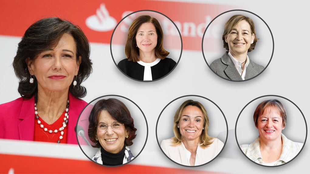 Las 'mujeres fuertes' de Ana Botín: así ha cambiado el consejo del Banco Santander