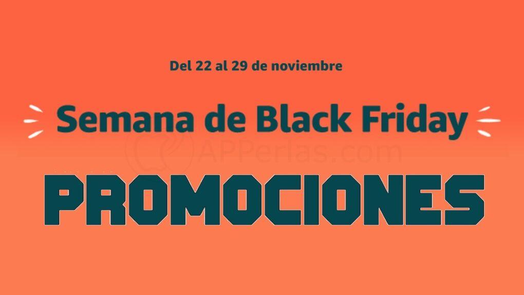 Ofertas de hoy, lunes, en la semana previa al Black Friday en Amazon