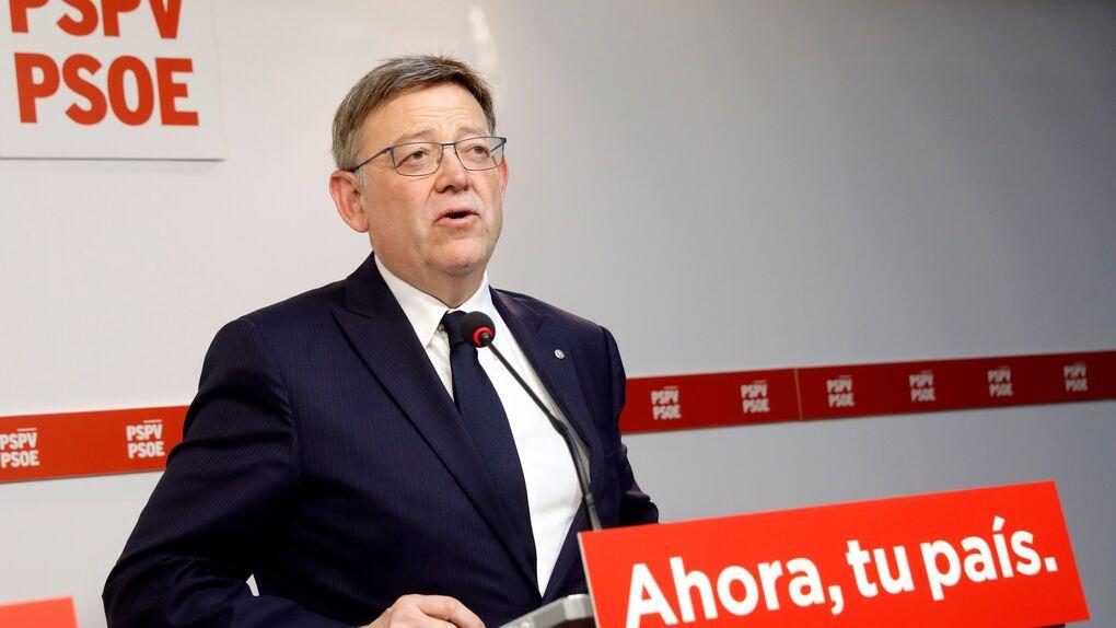 """Ximo Puig pide que el gobierno """"reponga"""" las 100.000 vacunas que Valencia ha puesto en otras autonomías"""